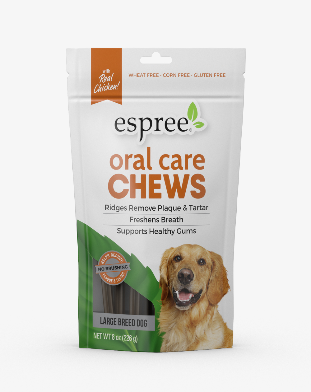 Espree Oral Care Chews for Large Dogs