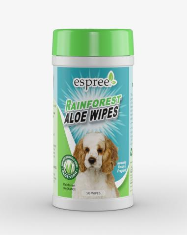 Espree Rainforest Aloe Dog Wipes