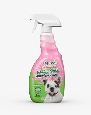 Espree Oatmeal Baking Soda Waterless Dog Bath