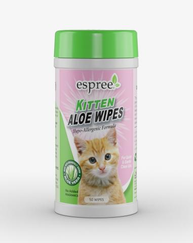 Espree Kitten Aloe Wipes